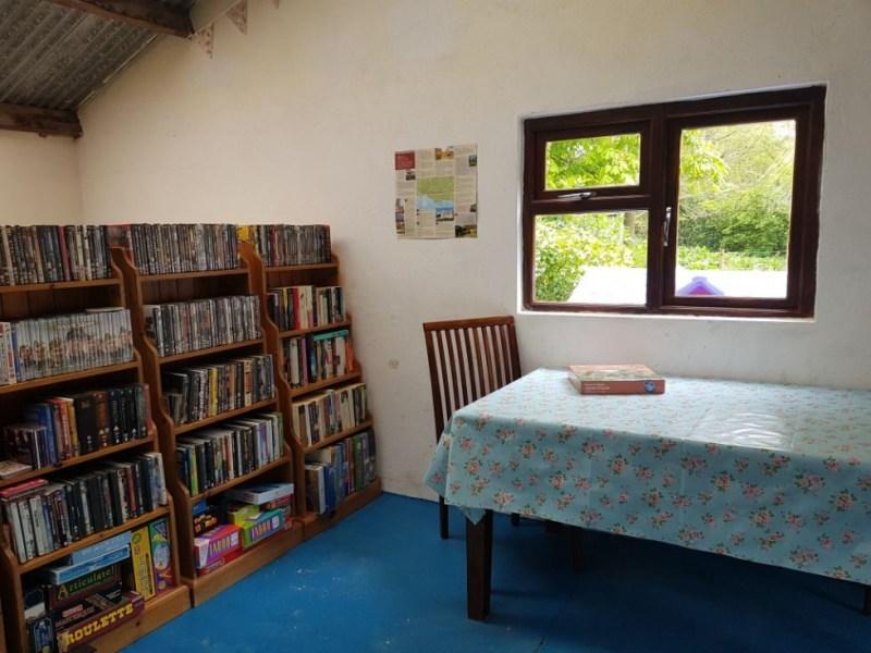 Hellbarn Recreation & Information Room